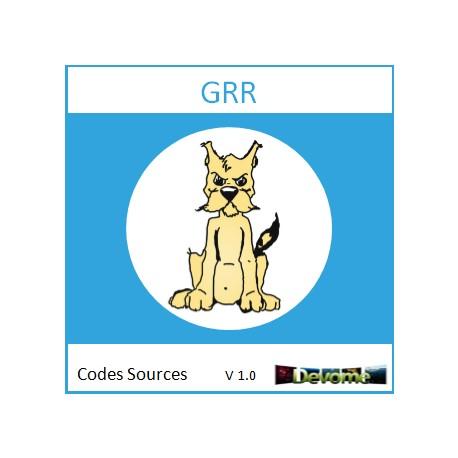GRR Codes Sources