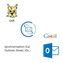 Module GRR : Export iCal (Outlook, Gmail...)